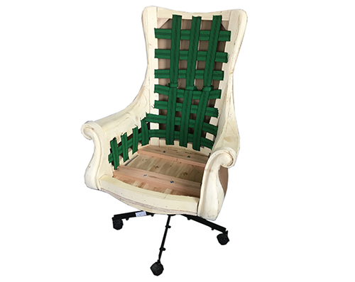 沙发织带生产流程