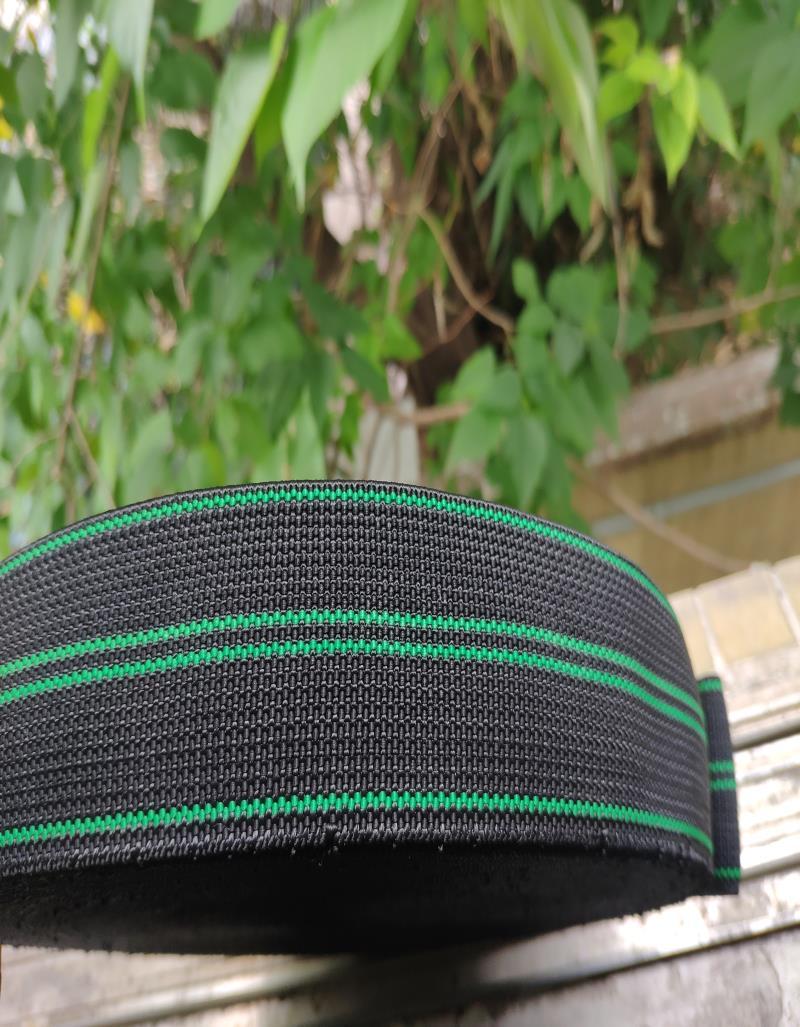 黑绿色松紧带